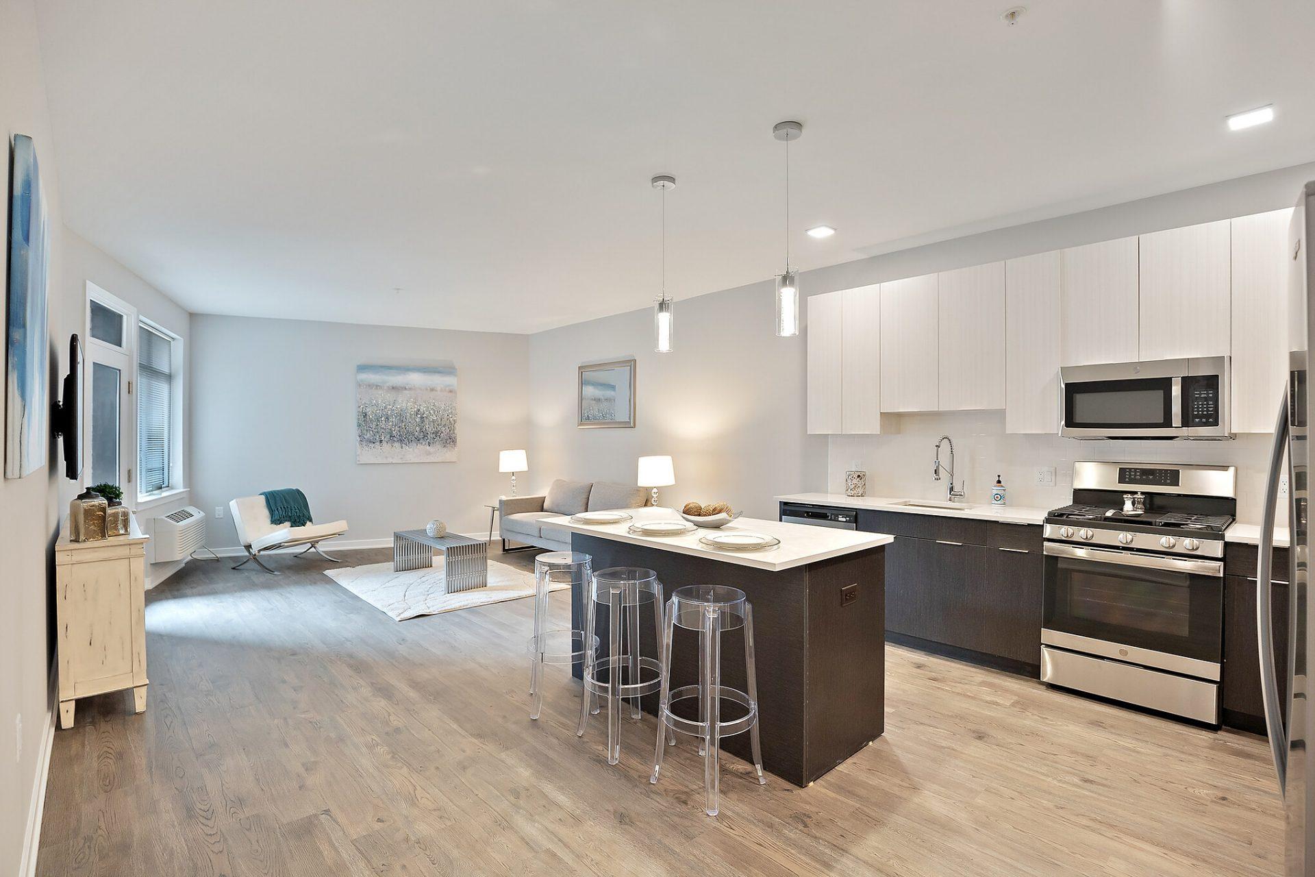 Open Kitchen Layout